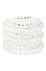 Invisibobble 'Original' Hair Tie White Set Of 3 Clear
