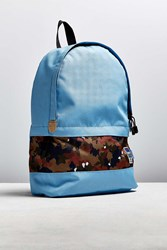 Mei Ocean Two Tone Backpack Blue