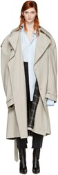 Vetements Grey Mackintosh Edition Oversized Trench Coat