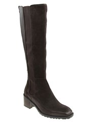 Nina Time Leather Knee High Boots