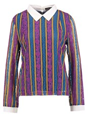Sister Jane Radlands Oyster Blouse Multicolor Multicoloured