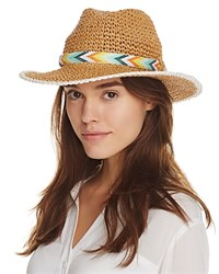 Echo Panama Hat With Interchangeable Bands White Beige