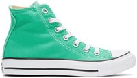 Converse Green Classic Chuck Taylor All Star Ox High Top Sneakers