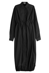 Alaia Cotton Maxi Shirt Dress