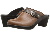 Romika Mokassetta 279 Brandy Clog Mule Shoes Brown