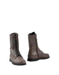 Hogan Ankle Boots Military Green