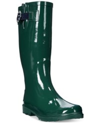 Nautica Saybrook Rain Boots Women's Shoes Dark Pine