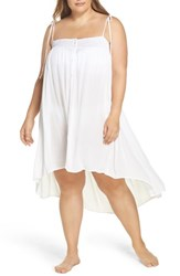 Muche Et Muchette Plus Size Women's Oliva Cover Up Dress White
