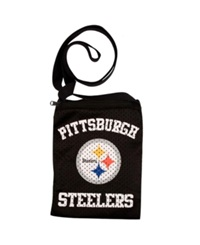 Little Earth Pittsburgh Steelers Gameday Crossbody Bag Team Color