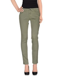 Blugirl Blumarine Denim Denim Trousers Women Green