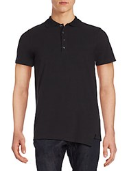 Drifter Johann Polo Shirt Black