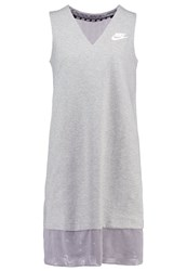 Nike Sportswear Jersey Dress Dark Grey Heather Matte Silver Mottled Grey
