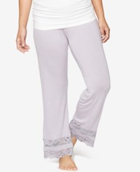 A Pea In The Pod Maternity Pajama Pants Lavender Aura