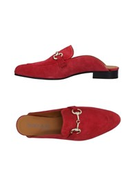 Boemos Mules Red