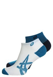 Asics 2 Pack Sports Socks Thunder Blue