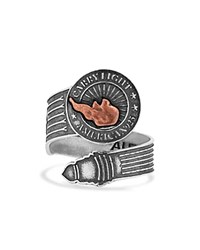 Alex And Ani Carry Light Spoon Ring Silver