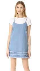 The Fifth Label Empire Dress Stone Washed Blue