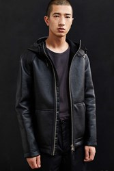 Mackage Camilo Leather Jacket Black
