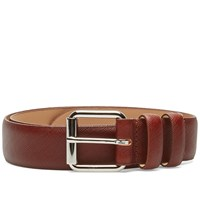 A.P.C. Paris Belt Brown