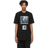 Julius Black Graphic T Shirt