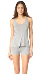 Honeydew Intimates All American Shortie Pj Set Heather Grey
