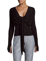 Veda Craft Knitted Top Black