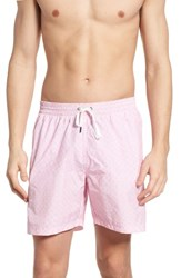 Danward Print Swim Trunks Rose