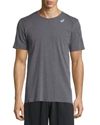 Asics Seamless Short Sleeve Shirt Heather Iron