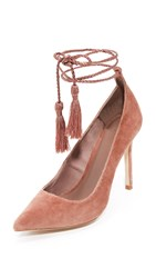 Joie Angelynn Ankle Wrap Pumps Vintage Rose