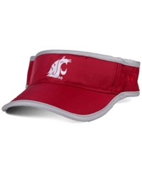 Top Of The World Washington State Cougars Baked Visor Crimson