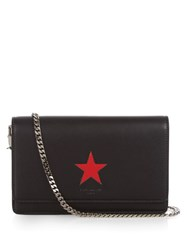 Givenchy Pandora Star Embossed Leather Cross Body Bag