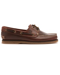 Timberland Classic Brown Leather Boat Shoes