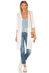 Lamade Tracy Hood Cardigan White