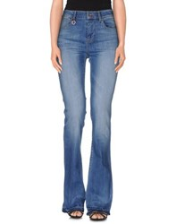 Only Denim Denim Trousers Women Blue
