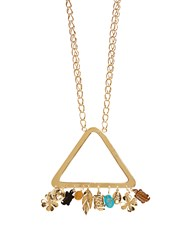 Aurelie Bidermann Gold Plated Necklace Yellow Gold