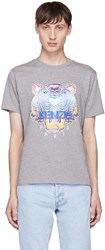 Kenzo Grey Limited Edition Tiger T Shirt