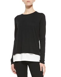 Vince Two Tone Layered Tee