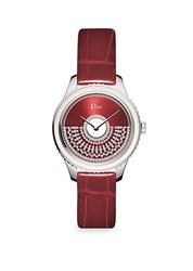 Christian Dior Grand Bal 36Mm Red Watch