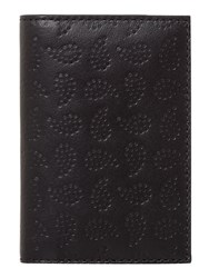 Paul Smith London Paisley Print Vertical Card Holder Black