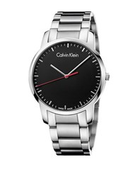 Calvin Klein City Stainless Steel Bracelet Watch Silver