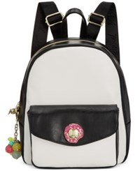 Betsey Johnson Triple Donut Backpack A Macy's Exclusive Style Cream Black
