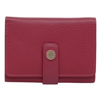 Radley Larks Wood Leather Small Folded Purse Red