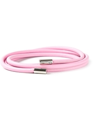 Blumarine Wrap Around Belt Pink And Purple
