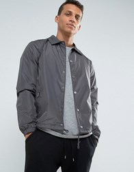 Loyalty And Faith Coach Jacket Grey