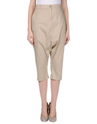 Niu' 3 4 Length Shorts Beige