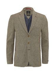 White Stuff Men's Landscape Blazer Beige