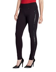 Jag Ricki Sequin Embellished Leggings Black