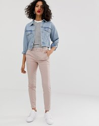 Selected Femme Chino Trouser Pink