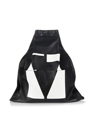 Mcq By Alexander Mcqueen Oracle Leather Backpack