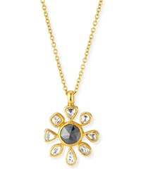 Gurhan 24K Elements Diamond Pendant Necklace